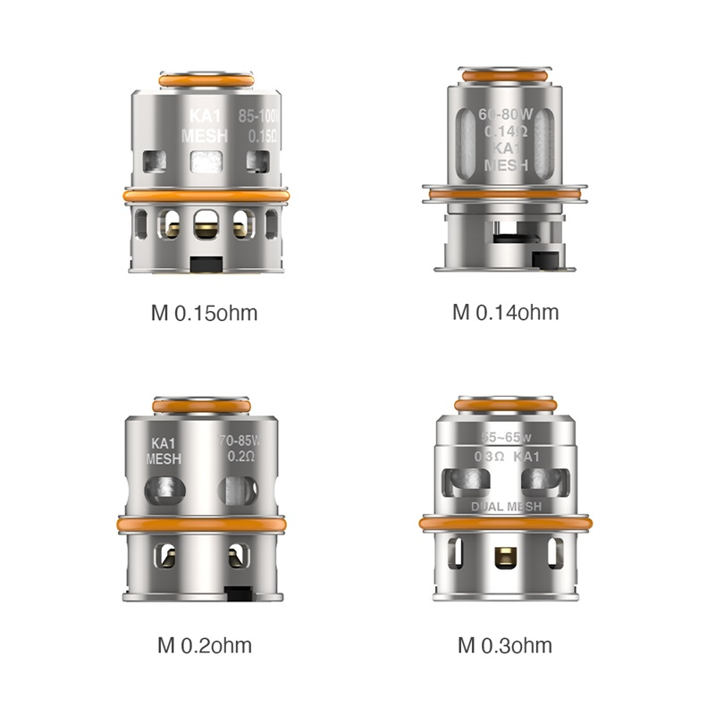 Geekvape M Series Coils for Z Max Tank (5pcs/pack)