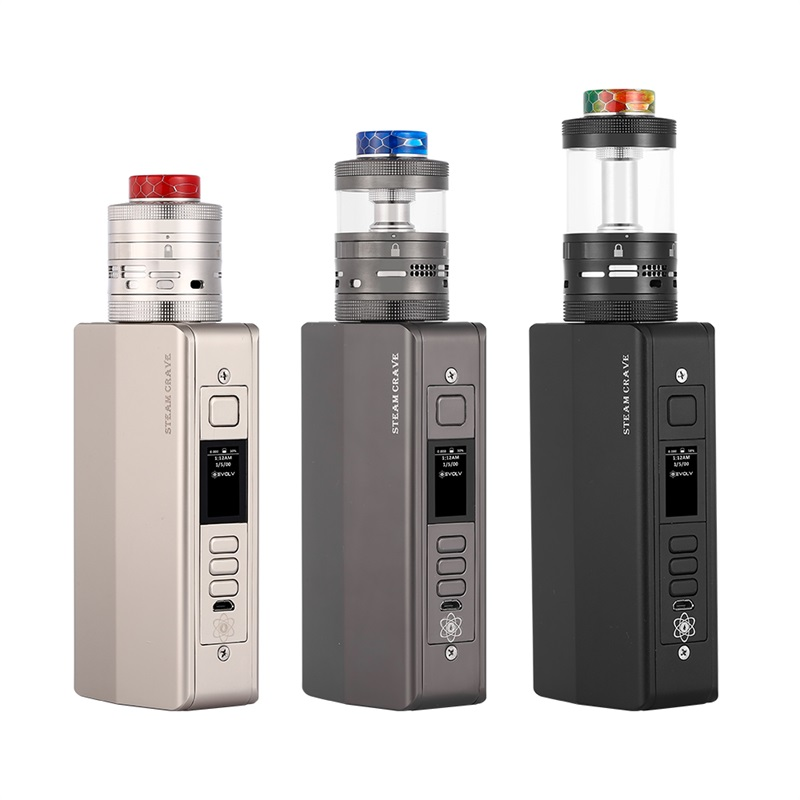 Steam Crave Hadron Pro Combo Kit 400W with Aromamizer Ragnar RDTA