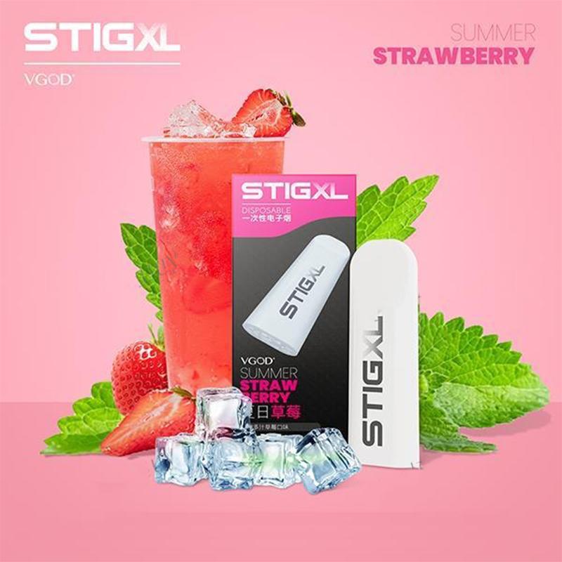 VGOD STIG XL Disposable-Summer Strawberry-3% Nic Salt